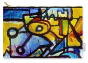 Suburbias Daily Beat Carry-all Pouch by Regina Valluzzi