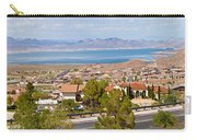 Suburbs And Lake Mead With Surrounding Carry-all Pouch