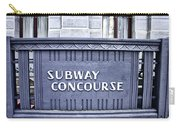 Subway Concourse At City Hall Carry-all Pouch
