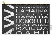 Subway Hawaii State 1 Carry-all Pouch