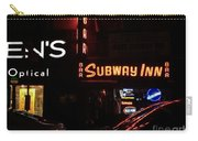 Subway Inn Bar - Vanishing Places Of New York Carry-all Pouch