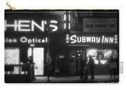Subway Inn - Vanishing Places Of New York Carry-all Pouch
