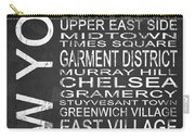 Subway New York 2 Carry-all Pouch