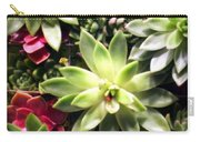 Succulent Beauties Carry-all Pouch