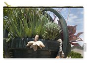 Succulents In A Planter Carry-all Pouch