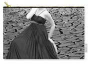 An Image Of Elegance Black And White Carry-all Pouch