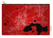Sudbury Street Map - Sudbury Canada Road Map Art On Color Carry-all Pouch
