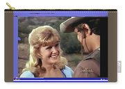 Sue Green Mark Slade The High Chaparral 1966 Pilot Screen Capture Collage 1966-2012 Carry-all Pouch
