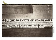 Suffrage Billboard, 1915 Carry-all Pouch