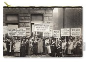 Suffrage Protest, 1916 Carry-all Pouch