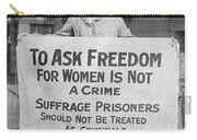 Suffragist 1917 Carry-all Pouch