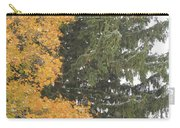 Sugar Maple And Evergreen Carry-all Pouch