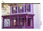 Sugar Plum Purple Victorian Home Carry-all Pouch