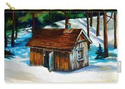 Sugar Shack Quebec Landscape Carry-all Pouch