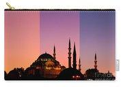 Suleymaniye Sundown Triptych 05 Carry-all Pouch