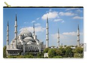 Sultan Ahmed Mosque Landmark In Istanbul Turkey Carry-all Pouch