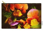 Sultry Nights - Flower Photography Carry-all Pouch