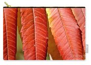 Sumac Leaves Carry-all Pouch