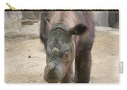 Sumatran Rhinoceros  Carry-all Pouch