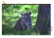 Sumatran Tiger Cub Carry-all Pouch