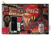 Sumi-e Styled Coca Cola Signs Carry-all Pouch