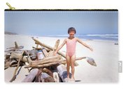Summer At The Beach  2 Carry-all Pouch
