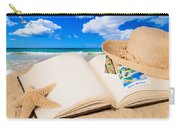 Summer Book Carry-all Pouch