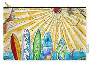 Summer Break By Madart Carry-all Pouch by Megan Duncanson