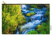 Summer Cascade Carry-all Pouch