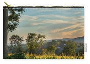 Summer Corn Square Carry-all Pouch by Bill Wakeley