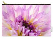 Summer Dahlia Carry-all Pouch