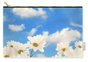Summer Daisies Carry-all Pouch by Amanda Elwell
