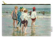 Summer Day Brighton Beach Carry-all Pouch