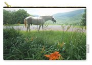 Summer Day Memories With The Paso Fino Stallion Carry-all Pouch by Patricia Keller