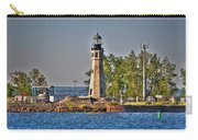 Summer Day View Of The Lighthouse  Carry-all Pouch