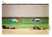 Summer Days At The Beach Carry-all Pouch by Scott Pellegrin