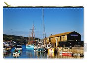 Summer Evening At The Harbour Carry-all Pouch