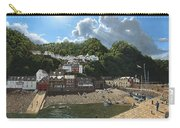 Summer Evening Clovelly North Devon Carry-all Pouch