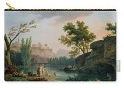 Summer Evening Landscape In Italy Carry-all Pouch