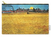 Summer Evening Wheat Field At Sunset Carry-all Pouch
