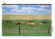 Summer Furrows Carry-all Pouch