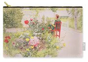 Summer In Sundborn Carry-all Pouch by Carl Larsson