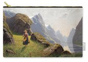 Summer In The Fjord Carry-all Pouch