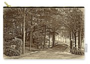 Summer Lane Sepia Carry-all Pouch