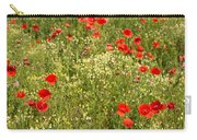 Summer Meadow Background Carry-all Pouch