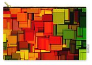 Summer Modern Abstract Art Xviii Carry-all Pouch by Lourry Legarde
