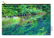Summer Monet Reflections Carry-all Pouch