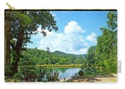 Summer Mountain Pond 2 Carry-all Pouch