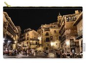 Summer Night In Albarracin Spain Carry-all Pouch