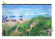 Summer On The Beach Carry-all Pouch